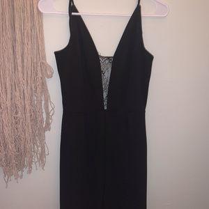 🥀 Black Laced Jumpsuit